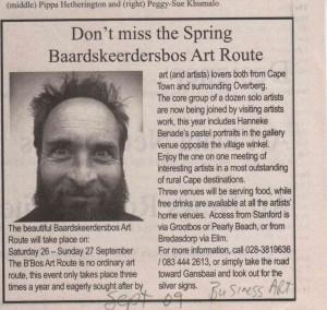 Art Times Article September 2009
