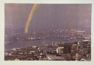 Harbour rainbow
