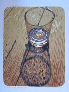 Onder in my Whiskey Glas